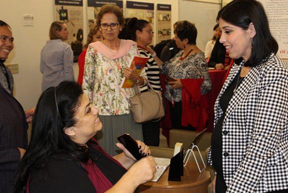 Lisa Gonzales-Solomon with Patty Perales Huerta-Meza