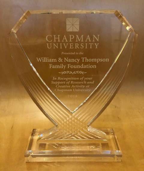 Thompson Family Foundation 2018 Award