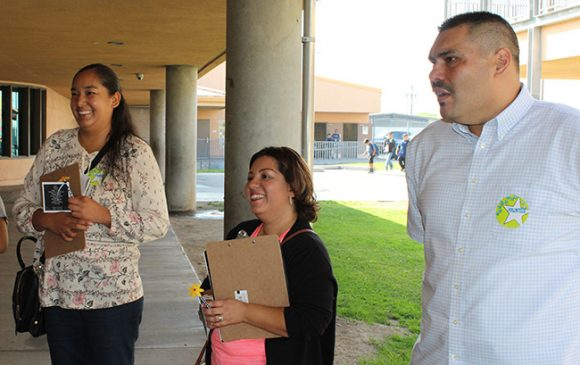 Esqueda Parent Learning Walk