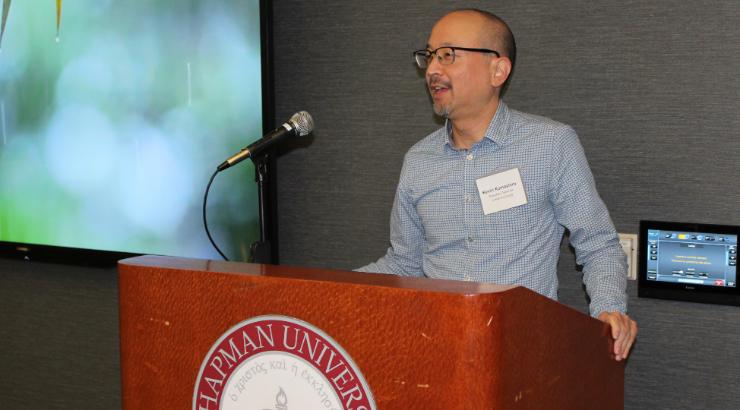 Kevin Kumashiro, Chapman guest lecturer
