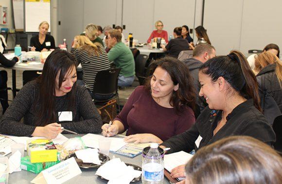 OCDE workshop participant table discussion