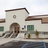 Cypress School Building front