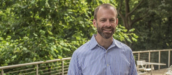 Dr. Andrew Lyon, new dean of Schmid College of Science and Technology