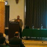 Dr. Hesham El- Askary Speaks on Climate Change at American University in Cairo