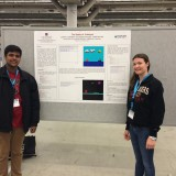 "Sakthisundar ""Sakthi"" Kasthurirengan (left) and Kathleen ""Katie"" Lamkin (right) successfully presented their work at this year's Python Conference (PyCon 2014) in Montreal, Canada."