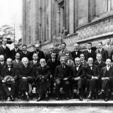 Einstein and other famous scientists