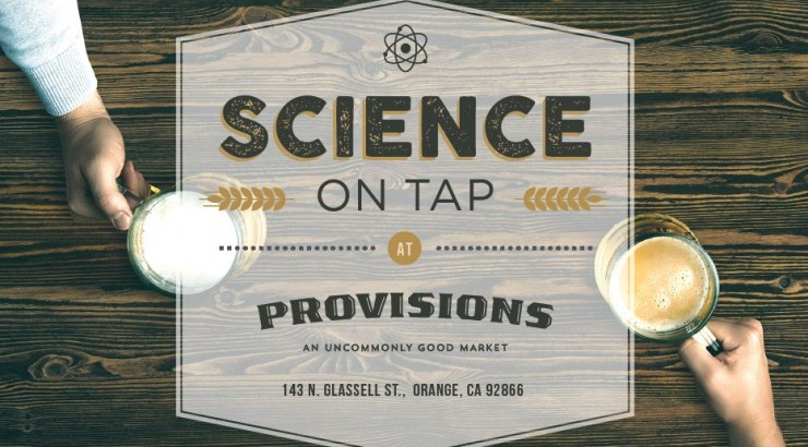 Science on Tap flyer