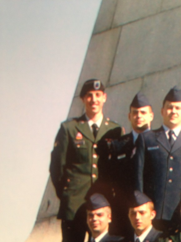 Mike Nemerouf in the Army