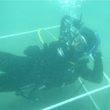 John Berriman '11 scuba diving