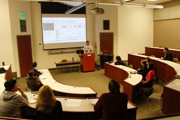 Students Speak at Capstone Presentations