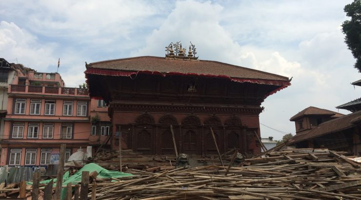 Kathmandu Durbar Square after 2nd Earthquake hit_11