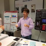 Douglas Fudge explains his lab's work with hagfish slime.