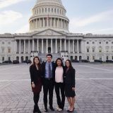 Environmental Science & Policy Students Lobby in Washington D.C.