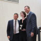 Taylor Lee Patti, Triple Physics, Math and Spanish Major, Wins Prestigious Cheverton Award