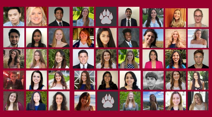 2017-18 Schmid Student Leadership Council member head shots