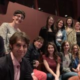 students and faculty attending play, PhotoGraph 51