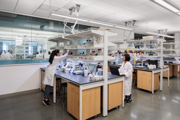 Keck Center research labs