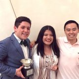 Arroyo, Solis and Chang award winners