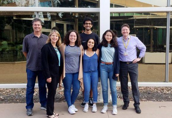 rosita saul with 2019 AHA scholar and mentors