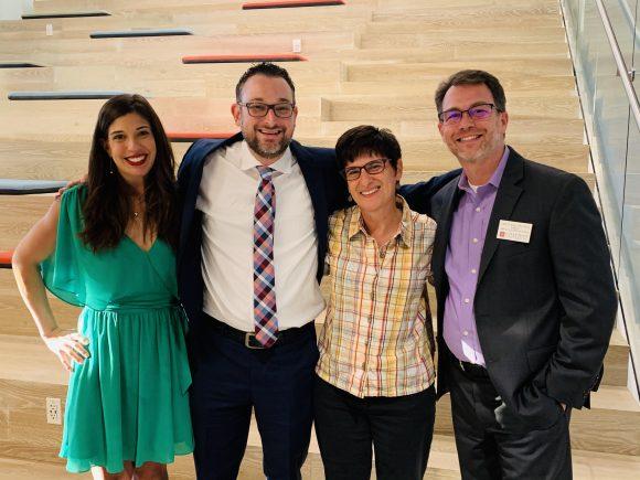 Dr. Christine Van Ramshorst, Dr. Ryan Van Ramshorst, Dr. Melissa Rowland-Goldsmith, and Dr. Jason Keller