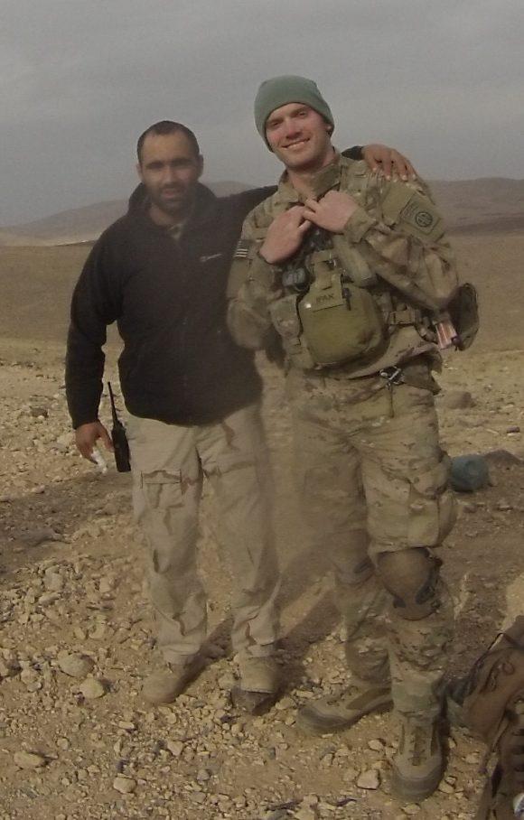 chris moore in afghanistan