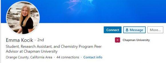 Emma Kocik LinkedIn Profile