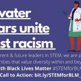 "text ""Goldwater Scholars Unite against racism"""