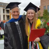 rachel isaacs with dr. wright