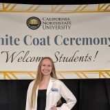 rachel isaacs white coat ceremony