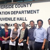 Chapman Law students at the Riverside County Probation Department of Juvenile Hall