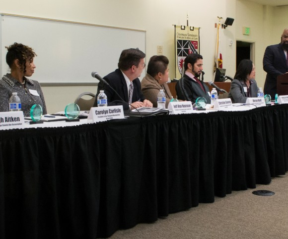 Orange County Affiliate Bar Presidents Discuss Diversity in Legal Profession at Fowler School of Law