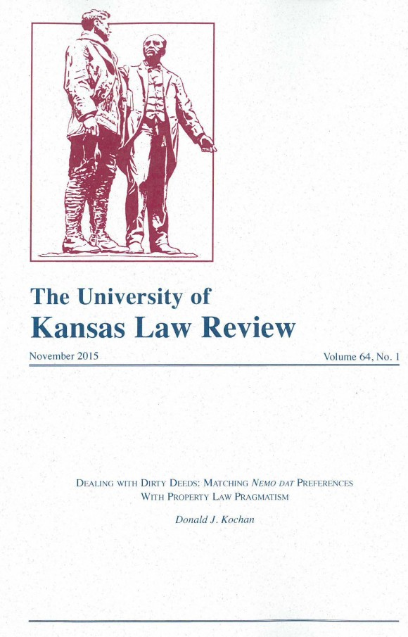 The University of Kansas Law Review