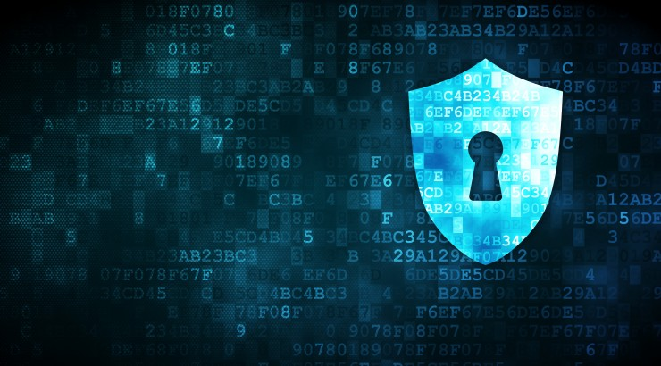 generic Cyber Security banner with shield icon