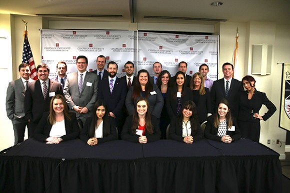 group shot of law students at Law Review Symposium