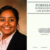 """Fowler Law Professor Deepa Badrinarayana publishes """"'Gatting' the New Climate Treaty Right: Leveraging Energy Subsidies to Promote Multilateralism"""""""