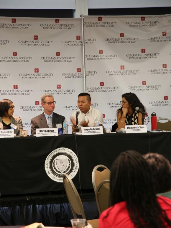 panelist at Law school event