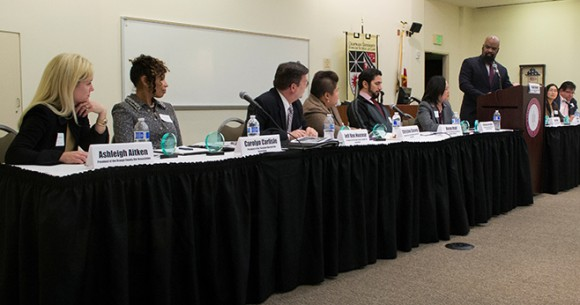 2015 Orange County Bar Diversity Panel at Fowler School of Law