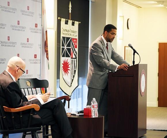 "Chapman Dialogue Series Presents ""From Watts to Ferguson: The Prophetic Wisdom of Ramsey Clark"""
