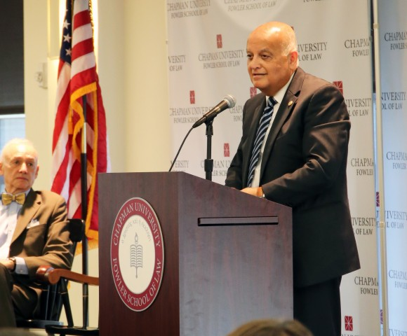 Fowler School of Law Welcomes Israeli Supreme Court Justice for Final Chapman Dialogue of the Year