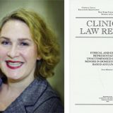 marzouk clinical law rev headshot and cover