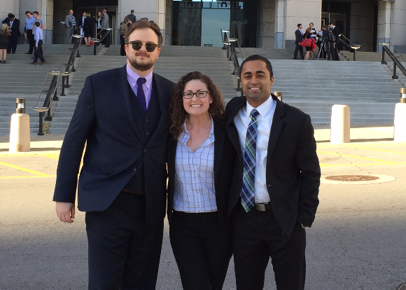 Fowler School of Law Competes in National Voir Dire Competition Semifinals