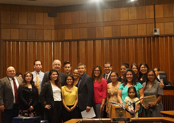 Fowler School of Law Recognized by City of Santa Ana for Alumna's Volunteer Work