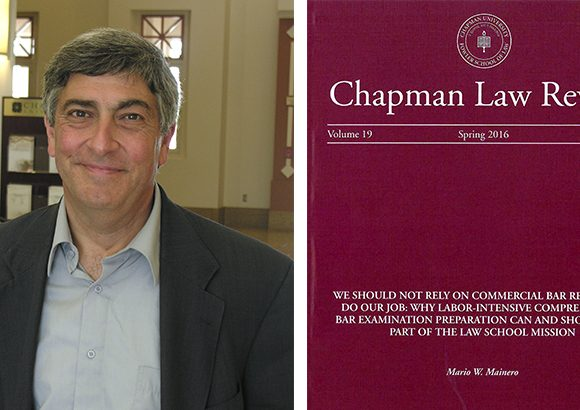 Fowler Law Professor and Director of Bar Services Published in Chapman Law Review