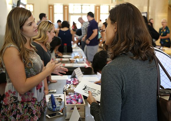 Students Explore New Opportunities at Annual Fowler Law Student Organization Fair