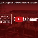 chapman entertainment law