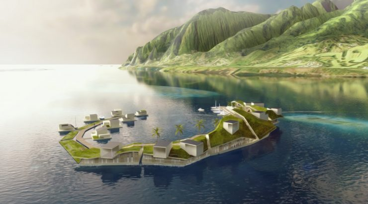 Seastead, seasteading, French Polynesia