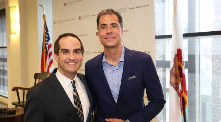 Matt Parlow, Rob Pelinka, 2018 Entertainment and Sports Law Symposium