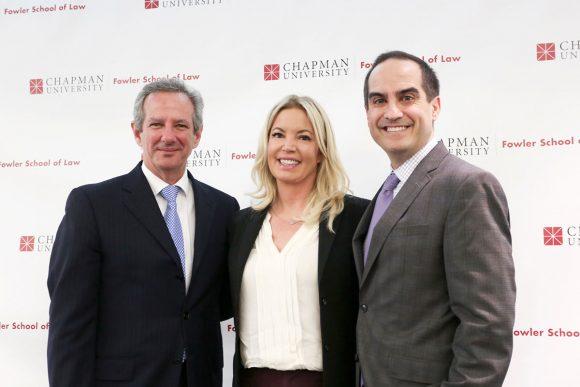 Dr. Thomas Turk, Jeanie Buss, Matt Parlow