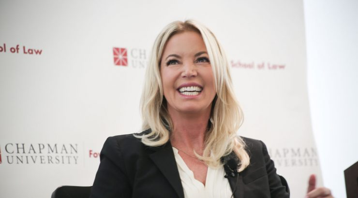 Jeanie Buss at Chapman University