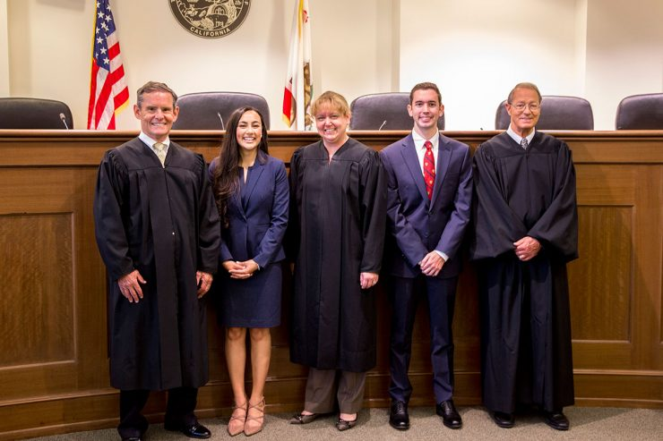 Judges and finalists